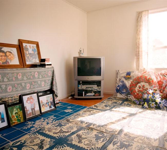 Edith Amituanai, The Amituanai Lounge, 2005, from the series, Mrs Amituanai, C-type photograph