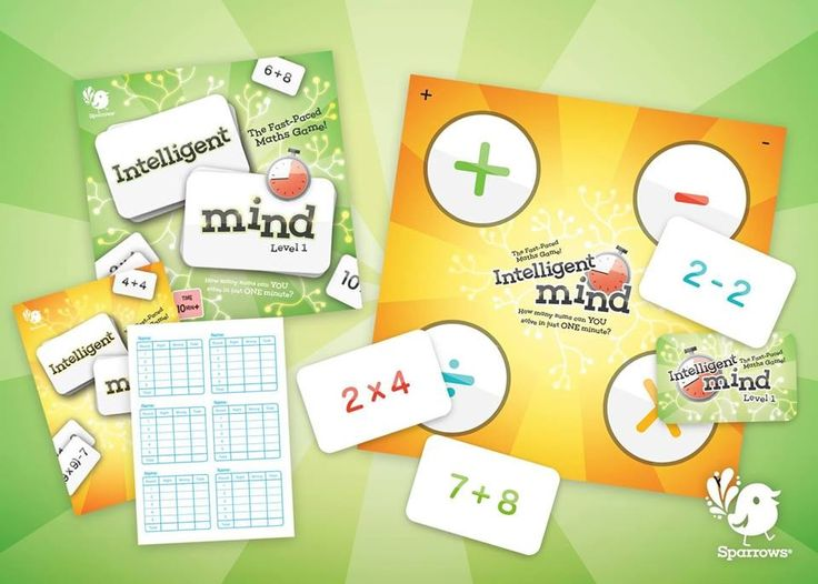 """Latest game release: """"Intelligent Mind"""" - Race against the clock and solve as many sums as you can in just ONE minute!   With 140 sums to solve, there's Plenty a Challenge, even for #Maths connoisseurs!   www.sparrowseducation.co.uk"""