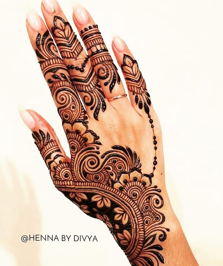 "0 Likes, 1 Comments - imehndi.com (@imehndicom) on Instagram: ""Amazing henna art by @hennabydivya Follow artist #repost #mehndi #mehndilove #henna #henna…"""
