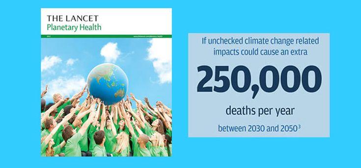 'The Lancet' begint tijdschrift over gezondheid aarde