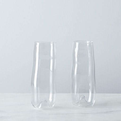 Prosecco Glass (Set of 2) on Provisions by Food52  These are so beautiful and simple. We'd have a dozen of these if the price were easier on the pocket book!