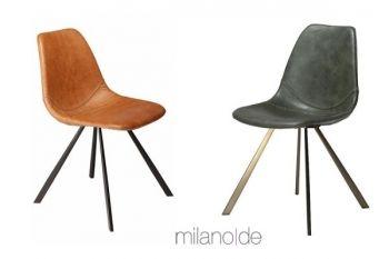 """Όταν το vintage παντρεύεται με τις μεταλλικές λάμψεις του 2017, δημιουργούνται eclectic τάσεις. Θερμός Υποστηρικτής η εταιρεία Milanode,σε συνεργασία με τον Οίκο Danform , με τη σειρά καθισμάτων Pitch, σε ποικιλία vintage art leather και μαύρα μεταλλικά , ανοξείδωτα ή χρυσά πόδια.""""   https://www.milanode.gr/product/gr/2441/%CE%BA%CE%B1%CF%81%CE%AD%CE%BA%CE%BB%CE%B1_pitch.html   #καρέκλες #καρέκλα #vintage #danform #eclectic #Milanode"""