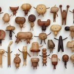 Quirky Cartoon Toys and Vases Carved from Wood by Yen Jui-Lin