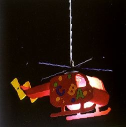 παιδικό φωτιστικό ελικόπτερο