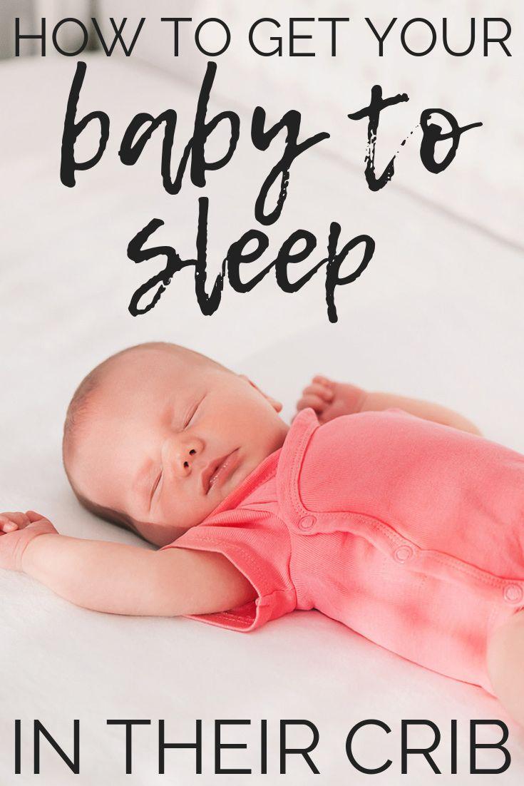Wie Sie Ihr Baby dazu bringen, in der Wiege zu schlafen