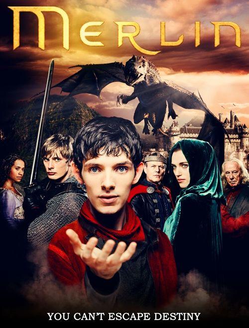Merlin 1-2-3-4-5.Sezon (DVDRip XviD) Türkçe Dublaj (TR-EN)