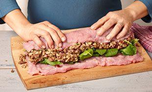 Le parfait rôti de longe de porc farci