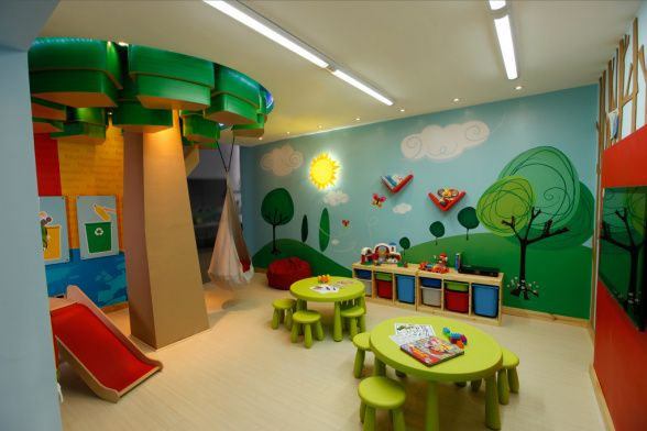 Love the tree idea play room, daycare - Other Space Designs - Decorating Ideas - HGTV ...