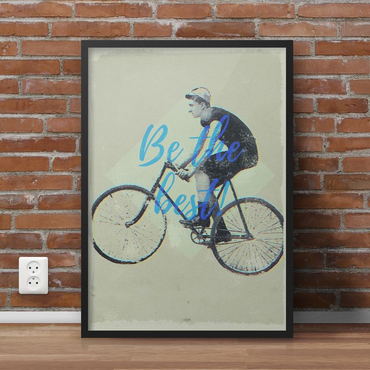 Vitage, retro poster - Be the best! Buy it at https://www.etsy.com/listing/387396852/be-the-best?ref=listing-shop-header-3