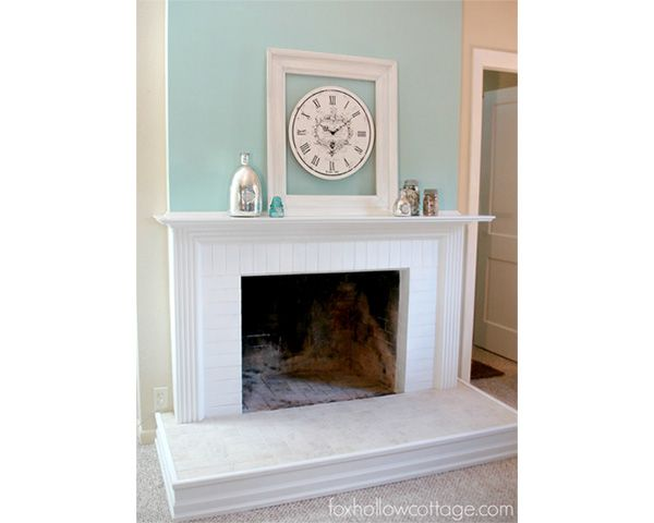 17 Images About Fireplaces On Pinterest Before And After Pictures House Of Turquoise And Mantels