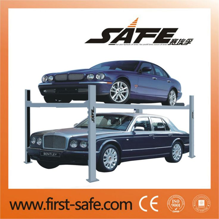 2016 fashionable 3.5T four post car lifter