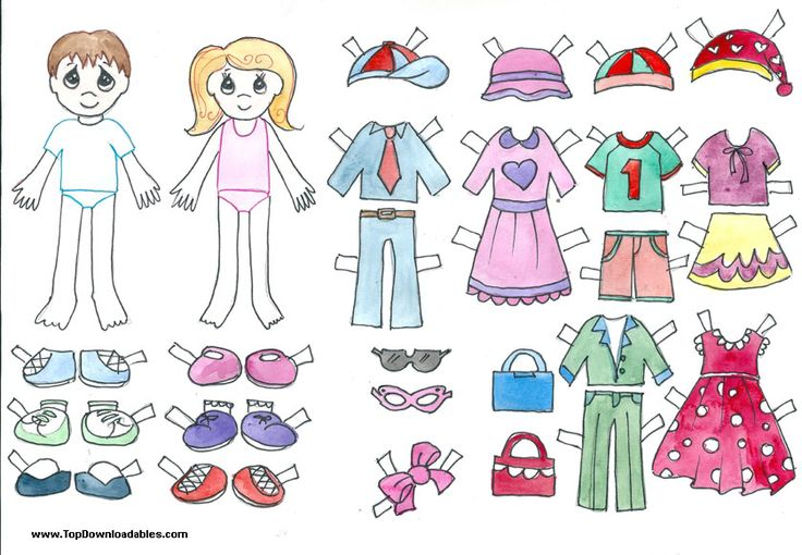 free printable paper doll cutout templates for kids and adults boy and girl paper doll. Black Bedroom Furniture Sets. Home Design Ideas