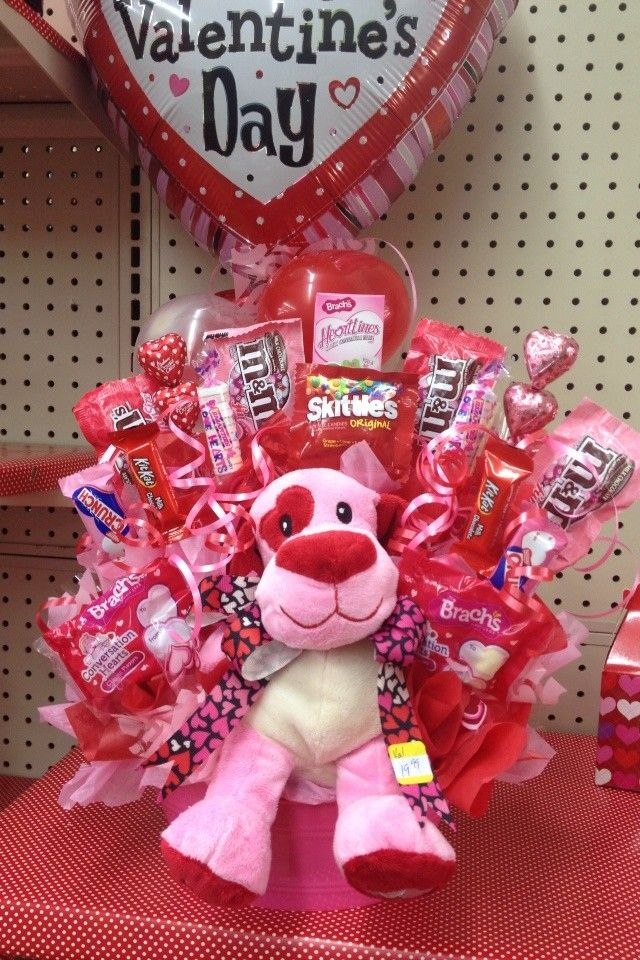 Roses Valentine S Day With Stuff Toys : Best images about valentine bouquets on pinterest