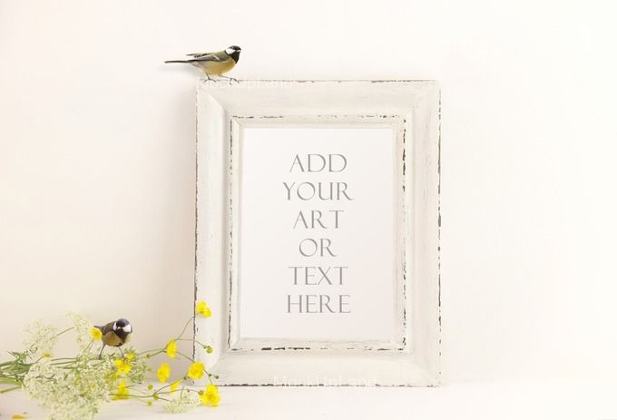 UNIQUE frame mock up by Susa's pics on @creativemarket