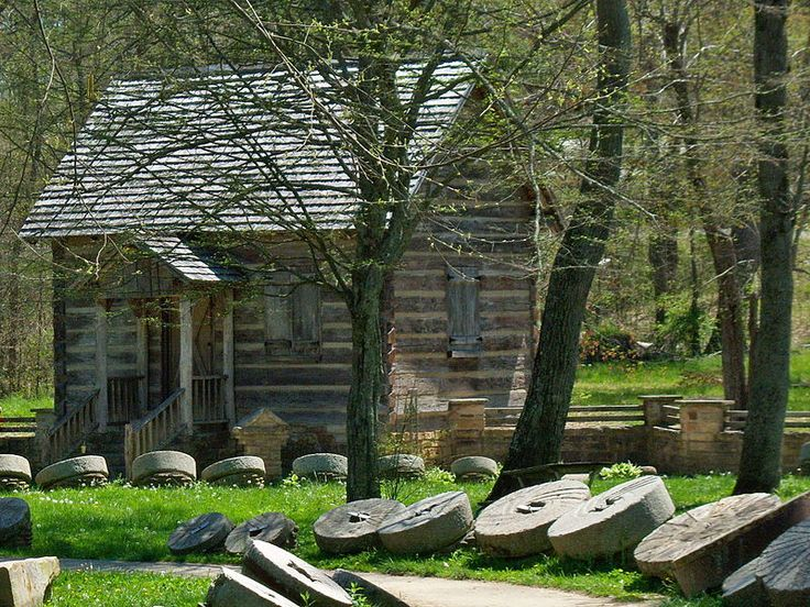 Levi Jackson Wilderness Road State Park is located just south of London, KY in Laurel Co.. It encompasses 896 acres & includes a section of the Wilderness Road that early settlers used to reach KY. It features two historic recreations of pioneer life. The Mountain Life Museum is a restored pioneer village that includes seven buildings with tools & household items. McHargue's Mill is a reproduction working watermill with authentic interior works, built on the banks of the Little Laurel River.