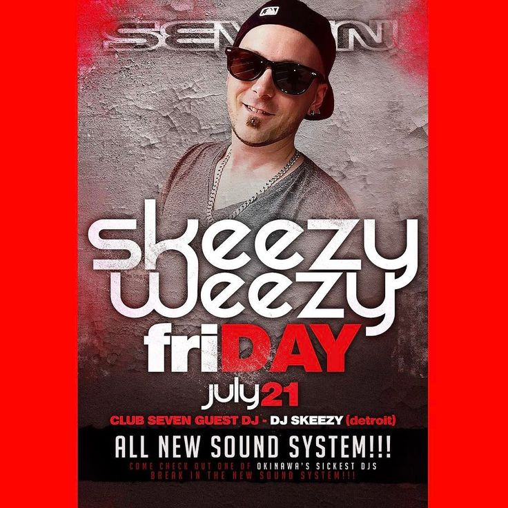 ALL NEW SOUND SYSTEM at Club Seven with Dj Skeezy break'n them in!! #DjSkeezy #clubseven #okinawajapan #skeezyweezy baby!!! Friday july21 2017!!! Shout out my #Detroit peoples!!!