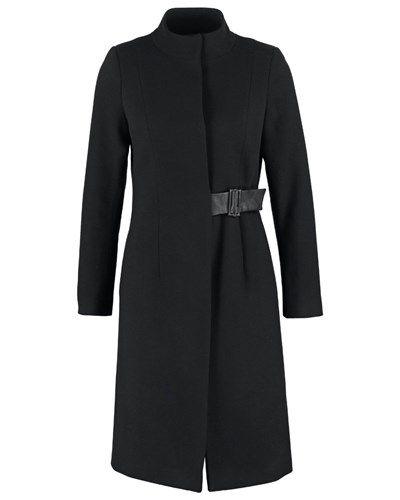 NAF NAF ARUZA Wollmantel / klassischer Mantel black