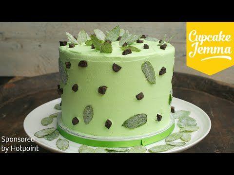 Chocolate Mint Truffle Cake Recipe
