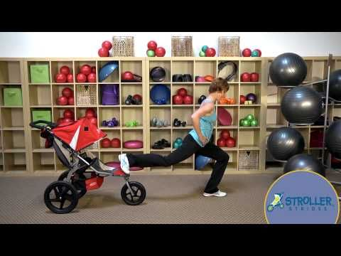 Stroller Strides 40 + videos with strollers and babys and not as recommended by stroller strides.