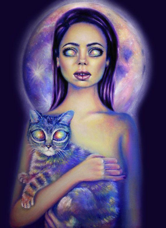 Картина масло на холсте картина оригинал девушка и от umantsiva