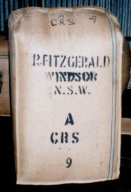 Old Images of Rylstone District: Dabee wool bale -  Fitzgerald brand