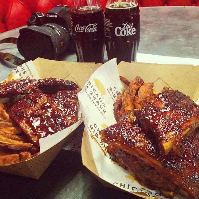 fouryearshlong Chicago Rib Shack  #chicagoribshack #ribs #Anniversary #trinitykitchen #dietcoke #coke #coco #cannon #dslr #chicagoribshack on Instagram