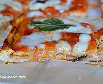 Pizza doppio strato filante e golosa vi conquisterà!!