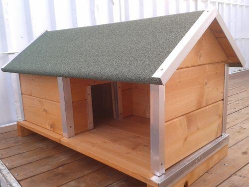 Cucce in legno su misura per cani - Brescia