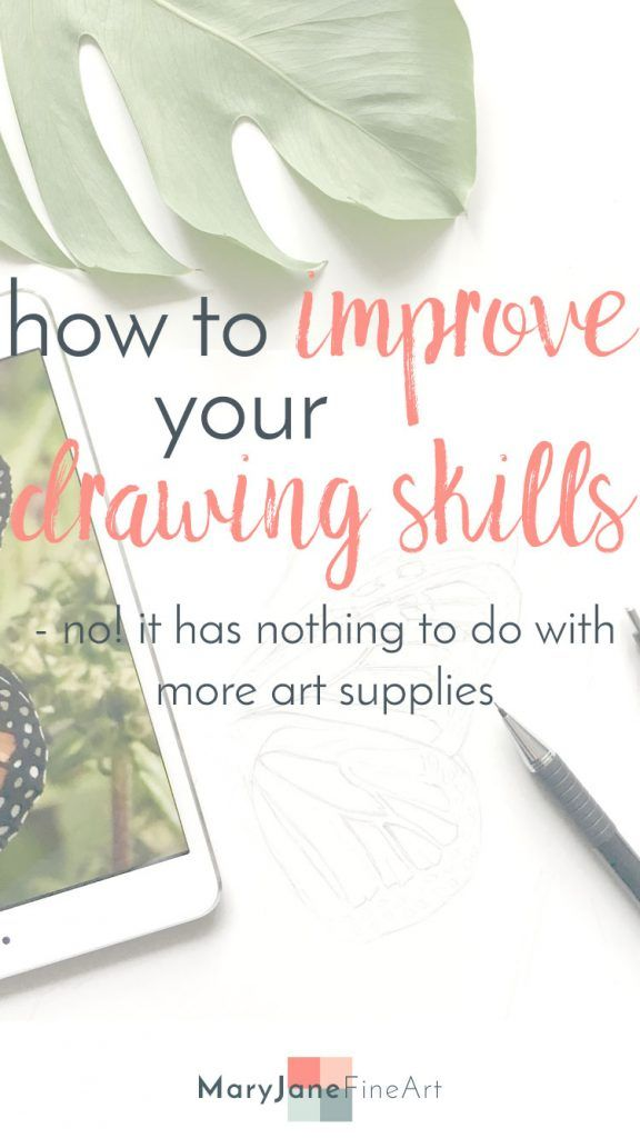 Read how to improve your Drawing skill. You have all you need at hand! Click through to read the article.