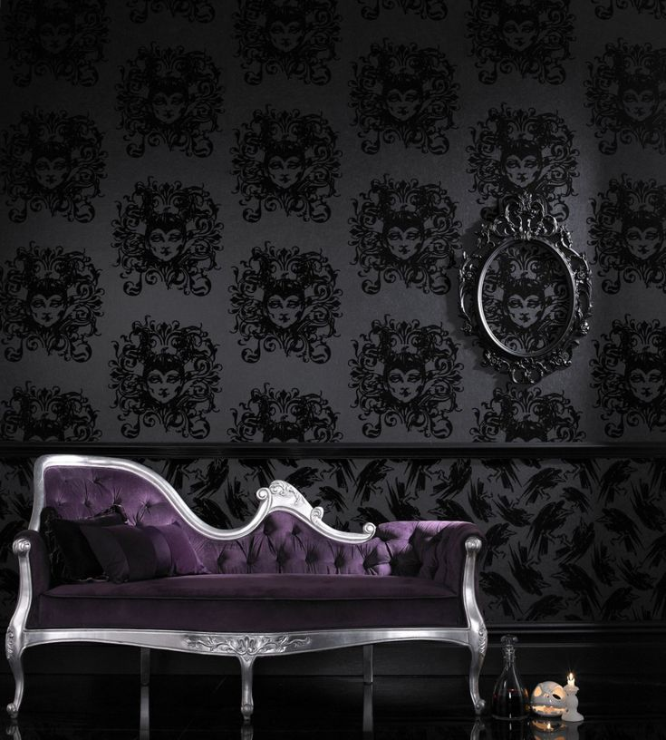 Gothic Wallpaper for Bedrooms - Interior Designs for Bedrooms Check more at  http://