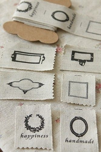 5. Custom Clothing Labels