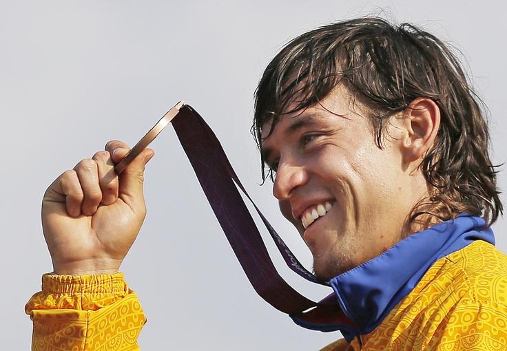 Carlos Mario Oquendo, medalla de bronce en BMX.