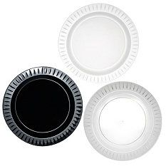 "$78.34 SAMs Online free shipping Party Essentials Elegance Plastic Plates, 10.25"", Select Color (168 ct.)"