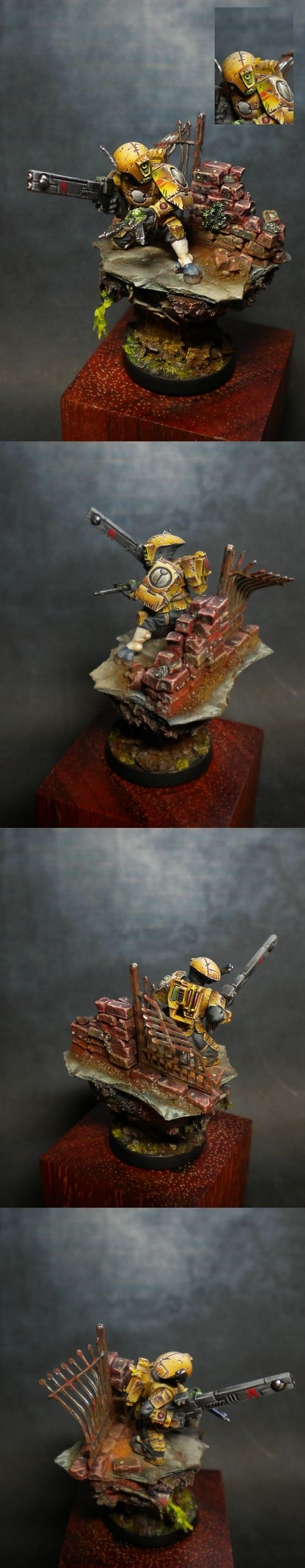 WARHAMMER FREAK FACTORY - Imperio Tau a petición de hey563 - FOTOS DE MINIATURAS