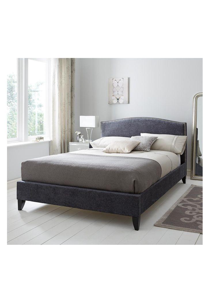 Sierra bed frame with optional mattresses for Studded bed frame