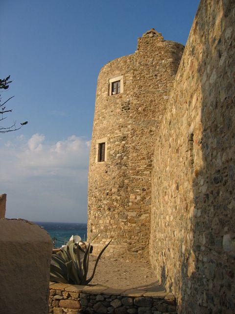 Castle of Naxos City