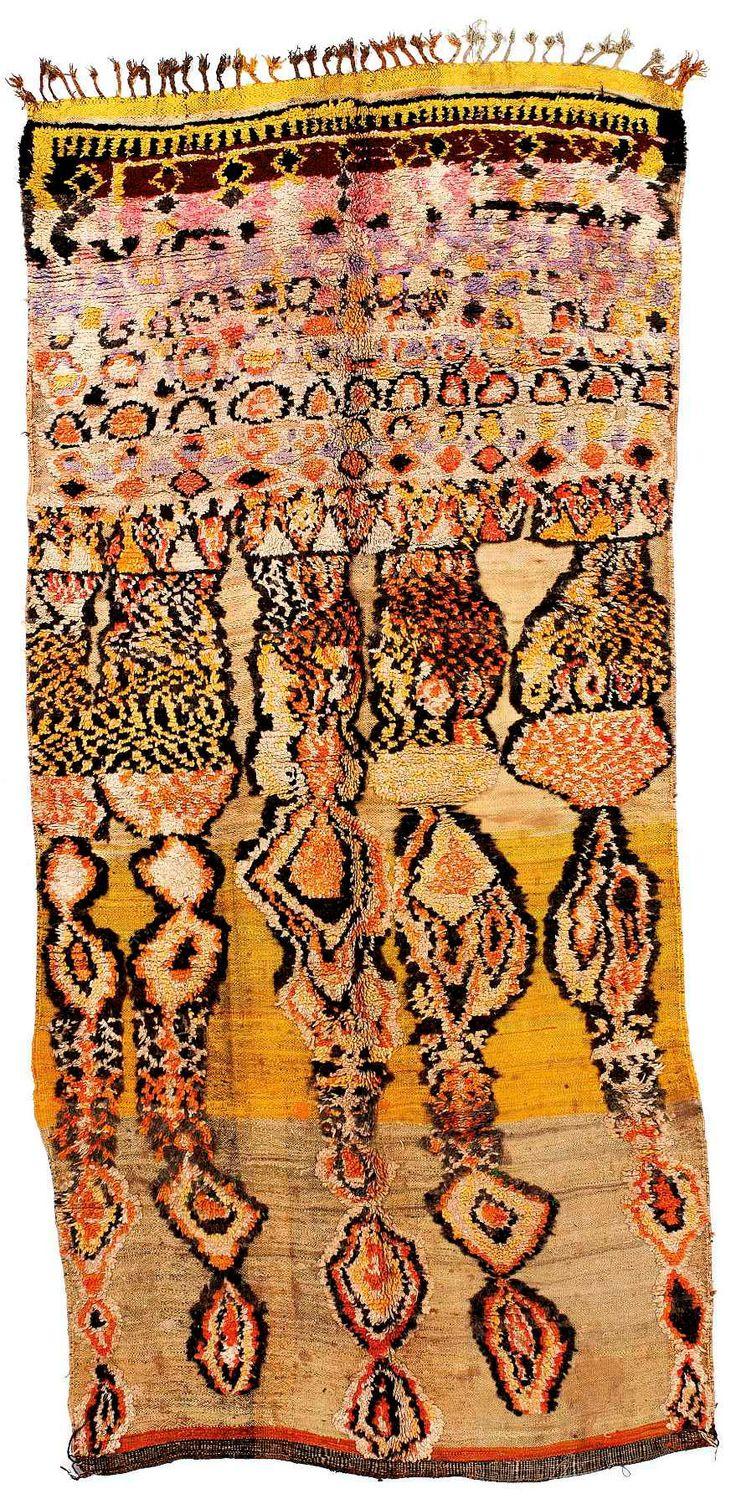 Marokkanische teppiche aus der sammlung adam ausstellung die farben des lichts