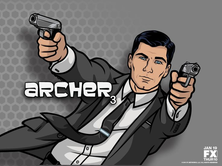 Archer. The 1st season premiered in January 2010 and continues today (2014) on FX.