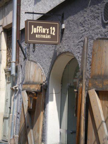 ресторан Джуффинова дюжина в Риге