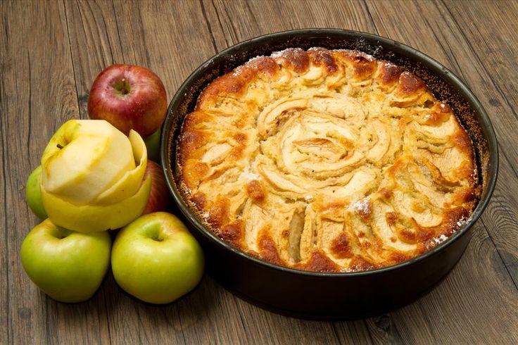 La torta di mele al mascarpone