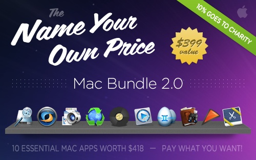 The Name Your Own Price Bundle. 10 Great Mac Apps, You Only Pay What You Want!