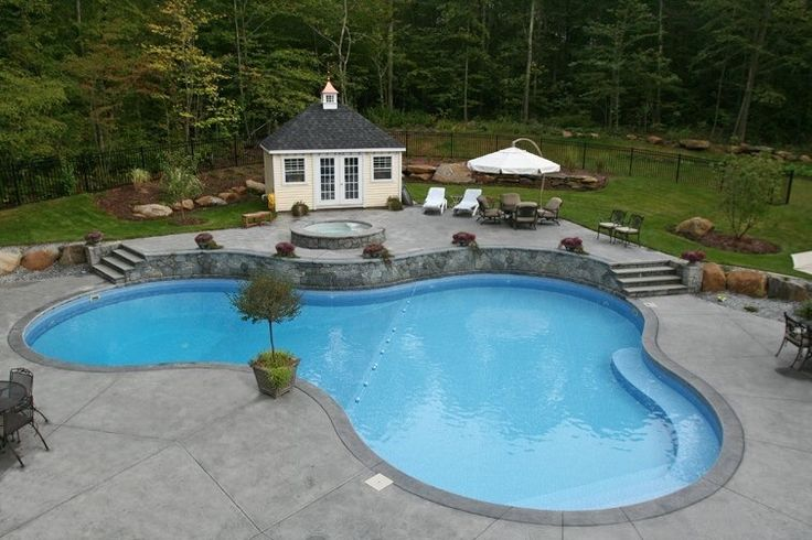 View our Custom Inground Pool Gallery. Juliano's Pools can help you with your pool project, we serve Western Massachusetts, Connecticut, and Rhode Island