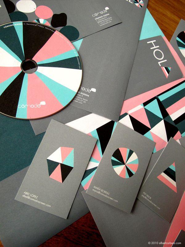 Cómodo Screen / albert corberó: Colors Combos, Visual Identity, Pastel Pink, Graphics Design, Colors Schemes, Albert Corberó, Branding Identity, Corporate Branding, Colour Palettes