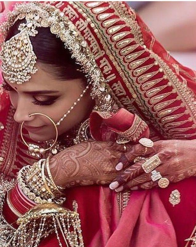 Deepika Padukone Wedding Pic Indian Bridal Fashion Wedding Guest Dress Indian Bridal