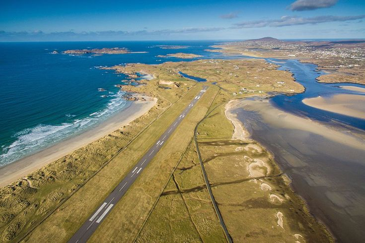 This Irish airport has been named the most scenic in the world