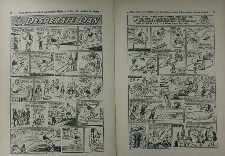 Dandy Book 1953 - Pg 18 and 19