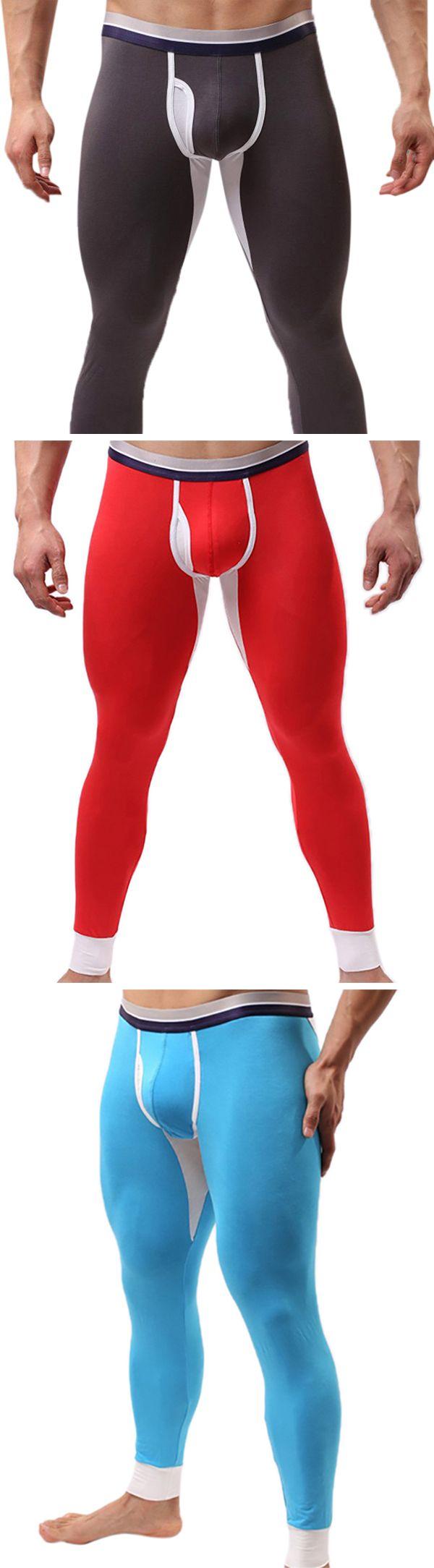 Winter Outfit�� Casual Long Johns/Modal Outdoor Underwear #men #menswear
