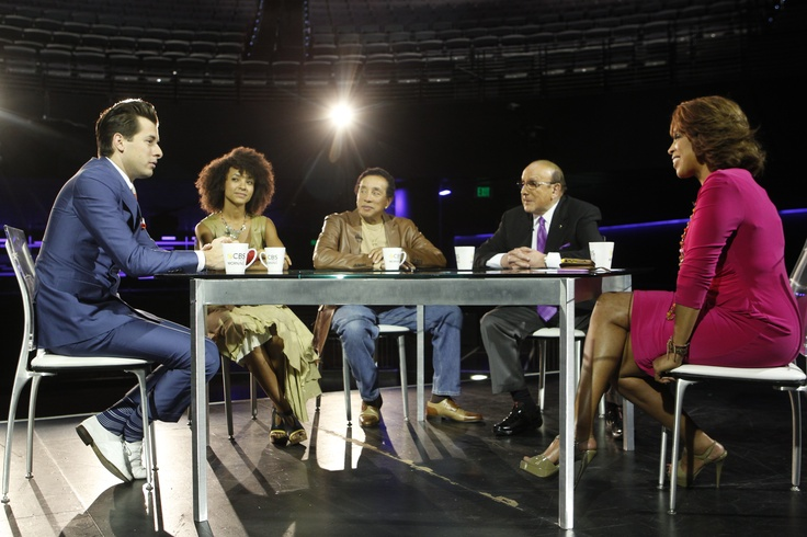 Gayle King previews The Grammys at the Staples Center with Clive Davis, Esperanza Spalding, Mark Ronson, and Smokey Robinson