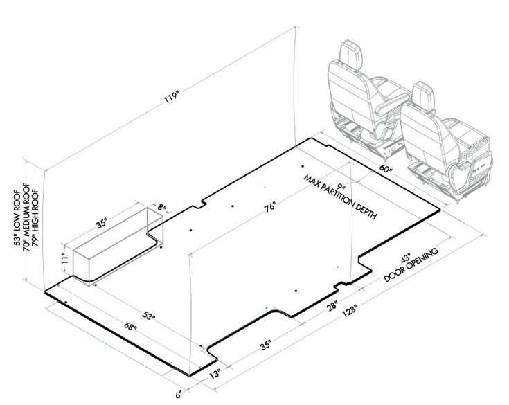 ford transit vehicle layouts  u2026