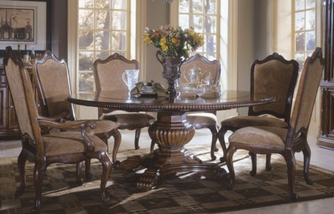 1000 Ideas About Round Table Settings On Pinterest